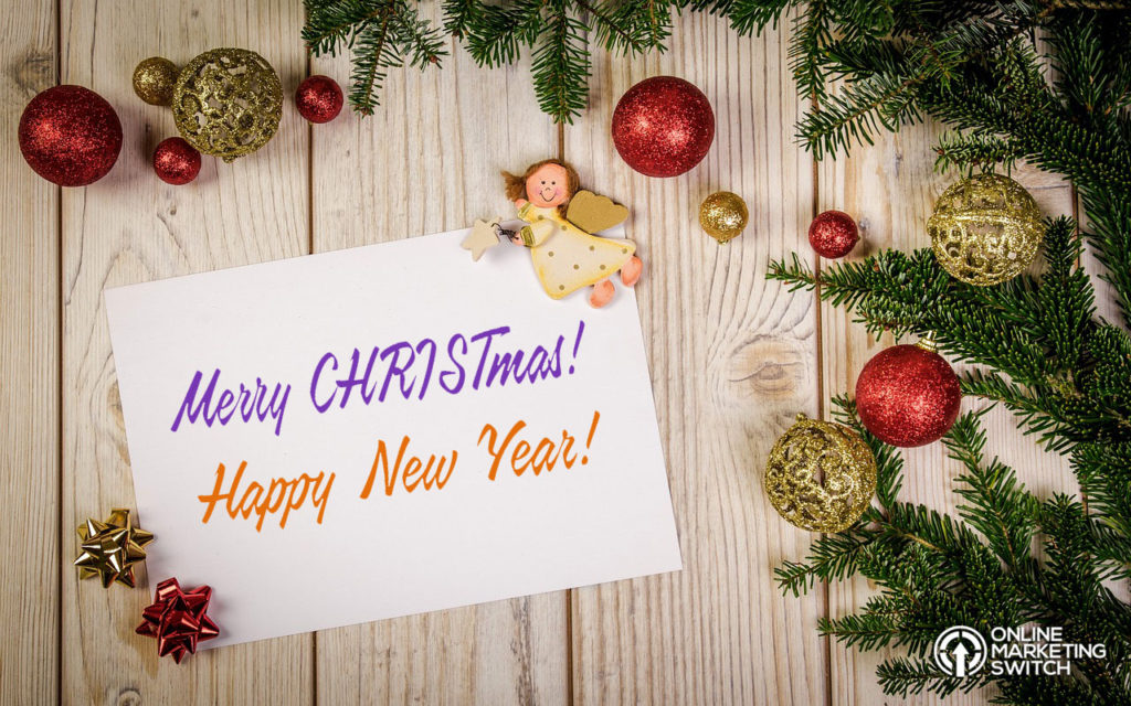 Online Marketing Switch greets you Merry CHRISTmas